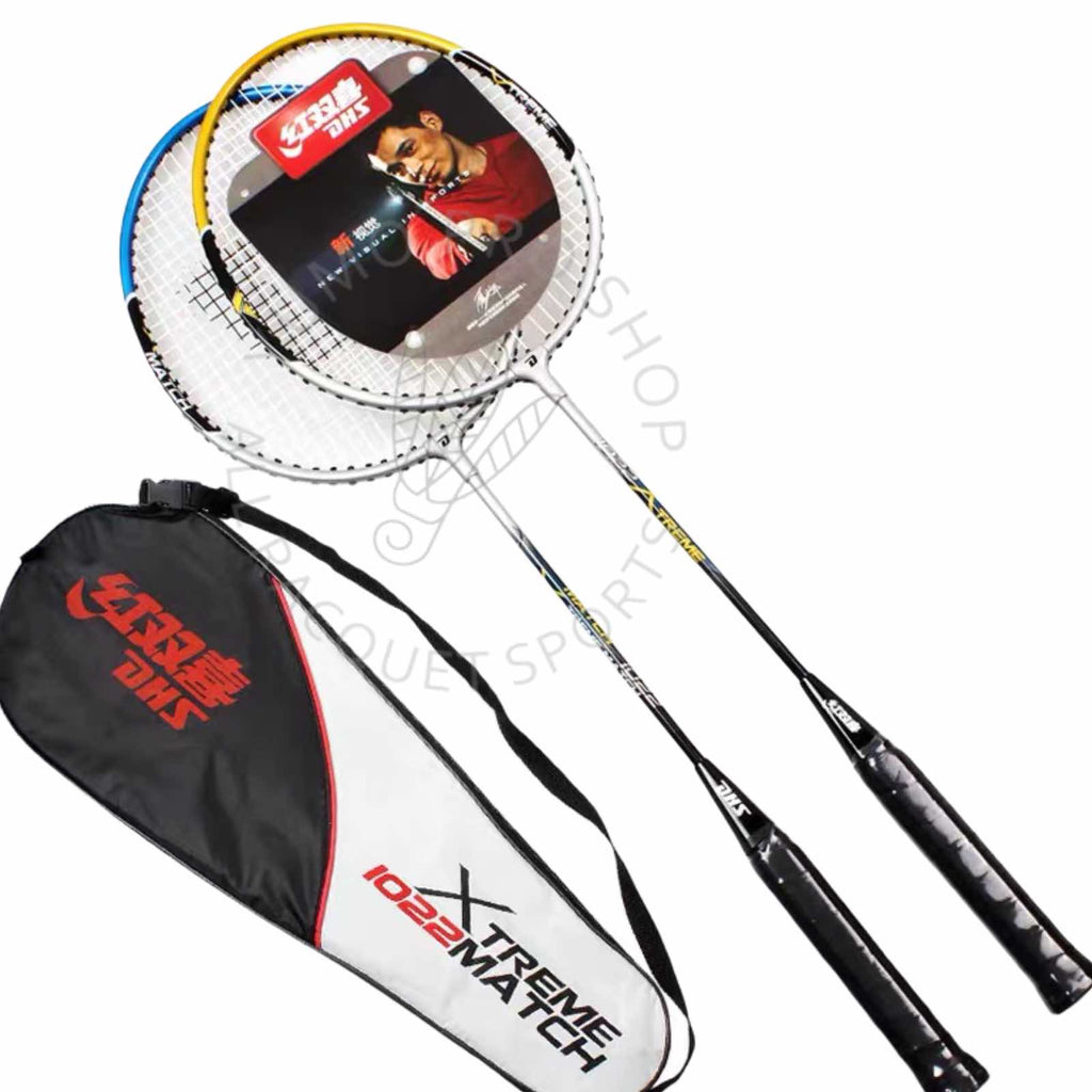 DHS Badminton beginner recreational Set with badminton shuttle