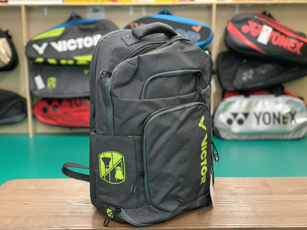 Victor BR3012C Backpack [Black] BagVictor - Yumo Pro Shop - Racquet Sports online store