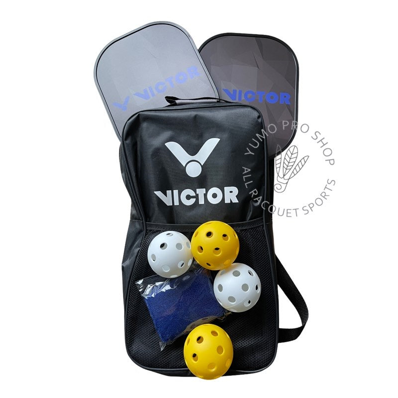 victor pickball racket and ball set