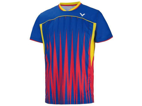 Victor T-6504E/F Rio Olympic Malaysian National Team Men's T-Shirt - Yumo Pro Shop - Racket Sports online store - 3