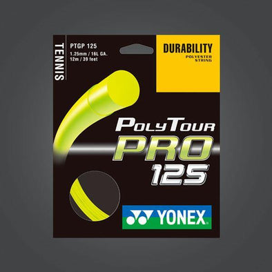 Yonex Polytour Pro 125 16L 1.25mm Tennis Strings Durable