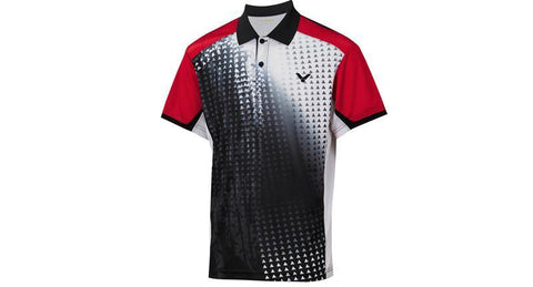 VICTOR S-4004C UNISEX COLLARED SHIRT - Yumo Pro Shop - Racket Sports online store