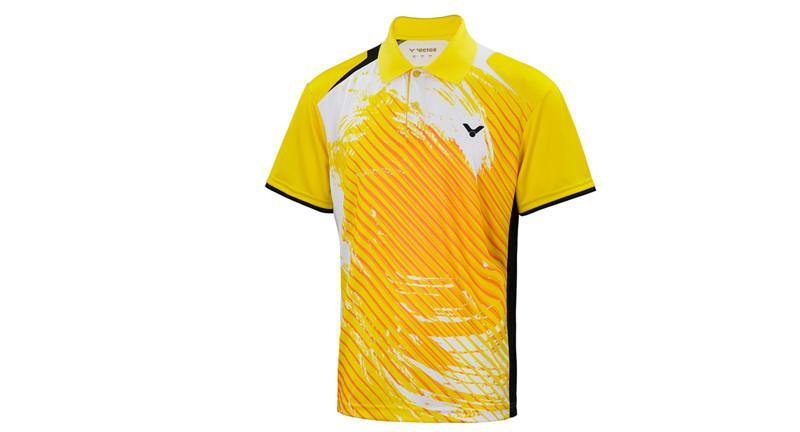 VICTOR S-4006E UNISEX COLLARED SHIRT - Yumo Pro Shop - Racket Sports online store