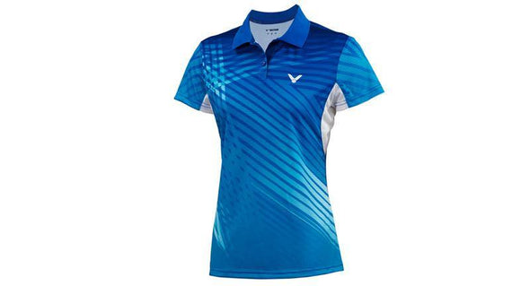 VICTOR S-4108F WOMEN COLLARED SHIRT - Yumo Pro Shop - Racket Sports online store