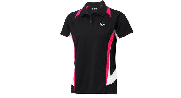 Victor S-4112C Women Collared shirt - Yumo Pro Shop - Racket Sports online store - 1