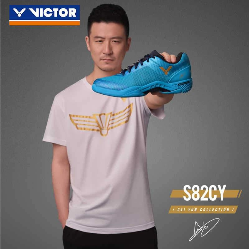 Victor S82F CY Court Shoe (Cai Yun Edition) - [Blue] ShoesVictor - Yumo Pro Shop - Racquet Sports online store