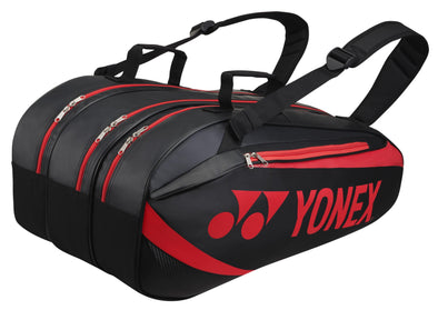Yonex 8929EX 9 Piece Racket Bag [Black/Red]