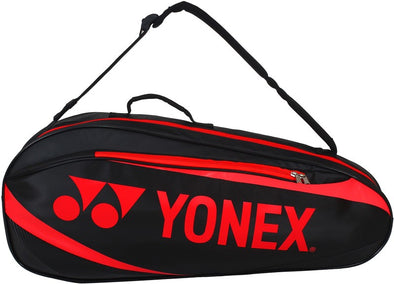 Yonex 8923EX 3 Piece Racket Bag [Black/Red]