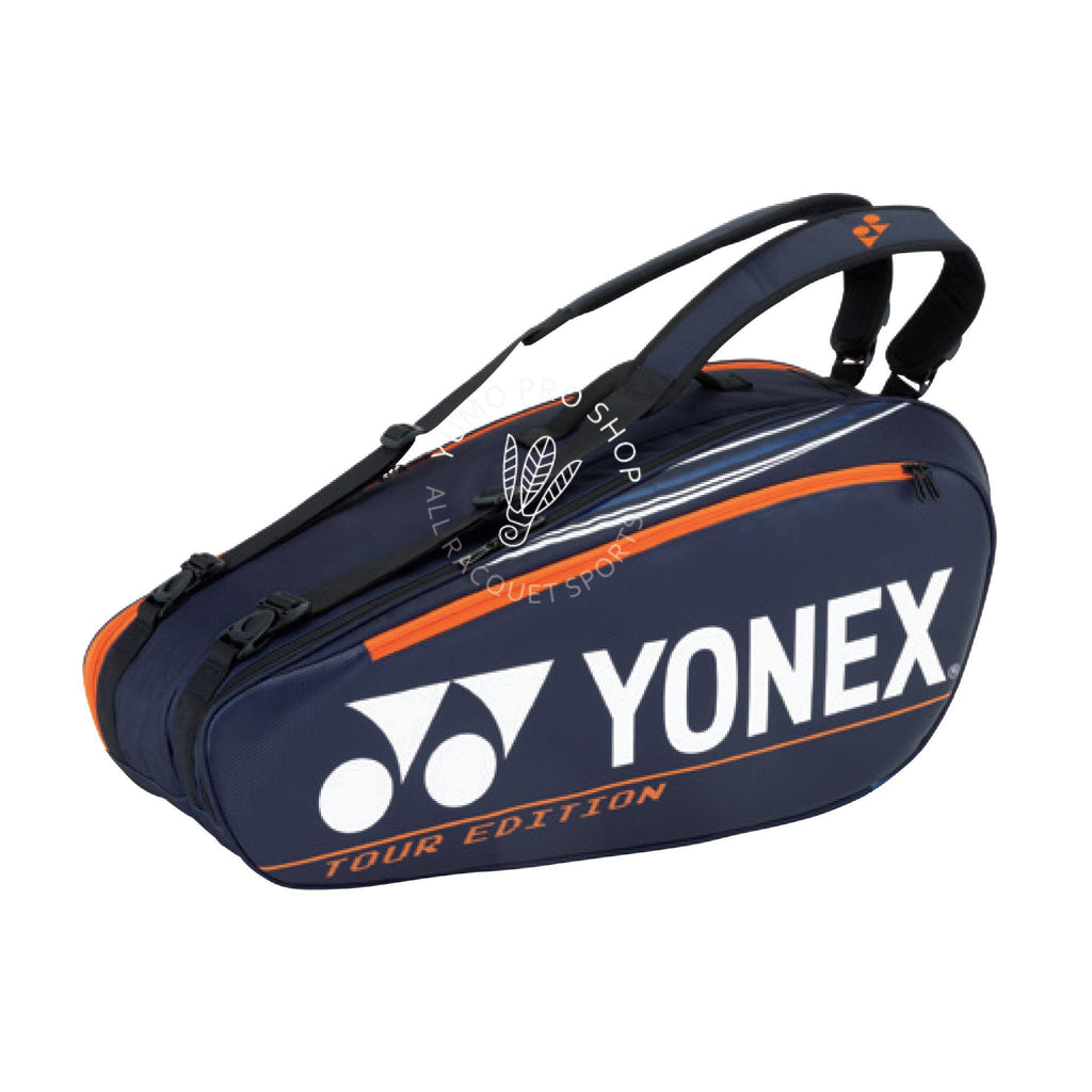 Yonex 92026EX - 6PCS Racket Bag [Dark Navy] timerYonex - Yumo Pro Shop - Racquet Sports online store