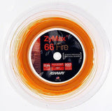 ASHAWAY ZYMAX 66 FIRE - FIRE ORANGE (200m Reel) - Yumo Pro Shop - Racket Sports online store