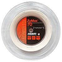ASHAWAY ZYMAX 70 - WHITE / BLACK / YELLOW (200m Reel) - Yumo Pro Shop - Racket Sports online store - 1