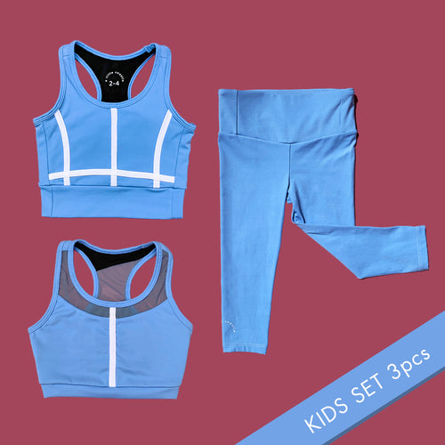 Sky Blue kids (3pcs)