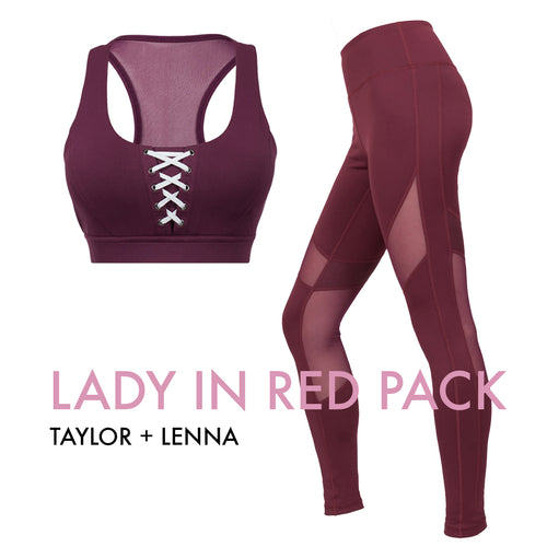 Lady in Red Pack (Taylor/Lenna)