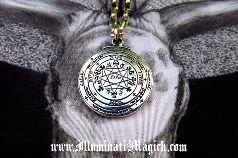 God Star Commander of Solomon the King Illuminati Magick