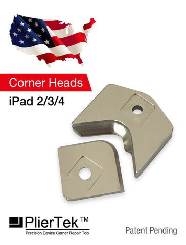 PlierTek Corner Heads Compatible iPad 2/3/4