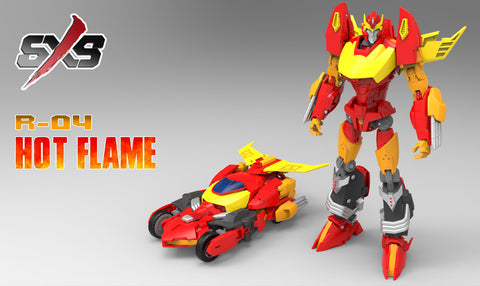 SXS-R04 - Hot Flame