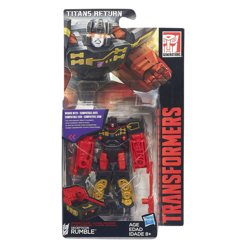Titans Return Legends Rumble