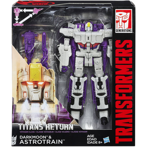Titans Return Voyager Astrotrain & Darkmoon