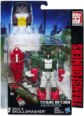 Titans Return Deluxe Skullsmasher & Grax