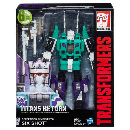 Titans Return Leader Six Shot & Revolver