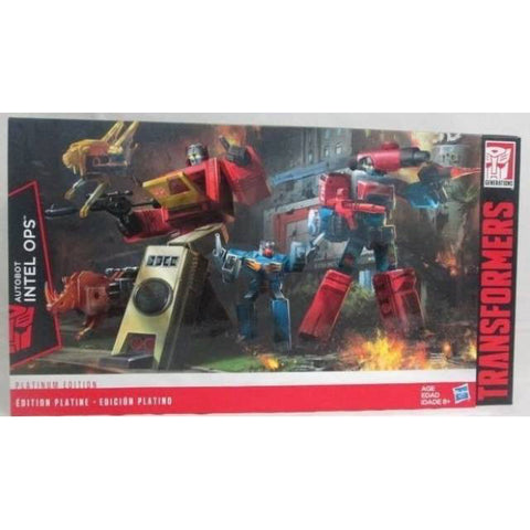 Platinum Edition Autobot Intel Ops Set - Blaster and Perceptor