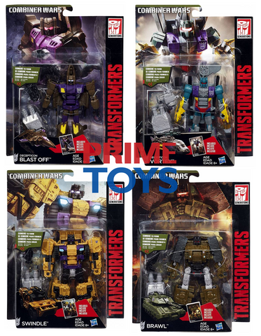 Combiner Wars Deluxe Wave 5 Set of 4