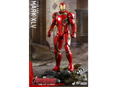1/6 Scale Avengers Age of Ultron Movie Masterpiece Figure - Iron Man Mark XLV