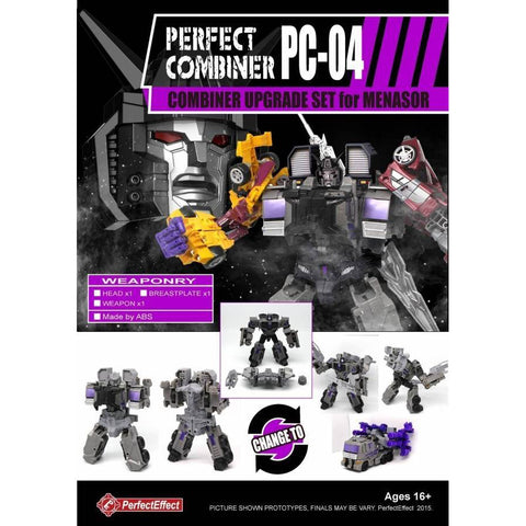 PC-04 Perfect Combiner Upgrade Set - Menasor