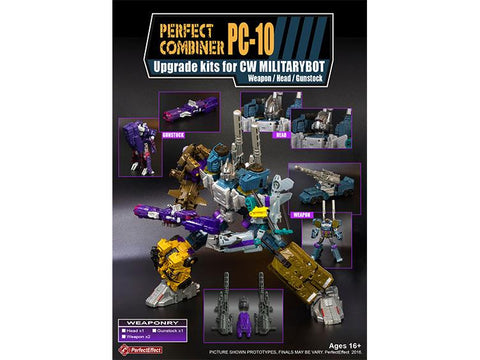 PC-10 Perfect Combiner Upgrade Set - CW Bruticus