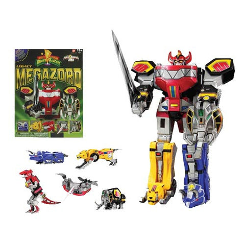 Mighty Morphin Power Rangers Legacy Dino Megazord