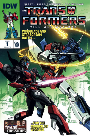Transformers: TILL ALL ARE ONE #1 TransMissions Exclusive Variant