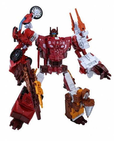 UNITE WARRIORS UW-08 Computron w/ Collector Coin