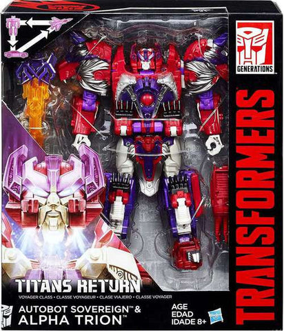 Titans Return Voyager Alpha Trion & Sovereign