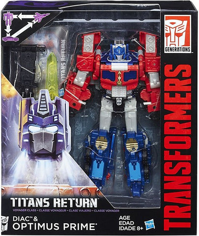 Titans Return Voyager Optimus Prime & Diac