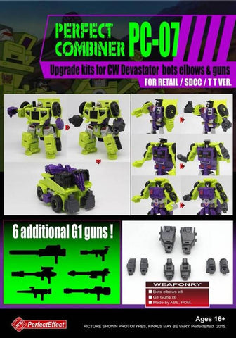 PC-07 PERFECT COMBINER Constructicon Set