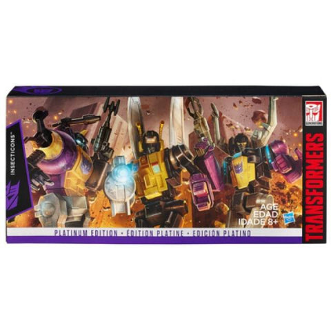 Platinum Edition G1 Reissue Insecticons Box Set