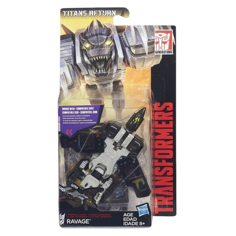 Titans Return Legends Ravage