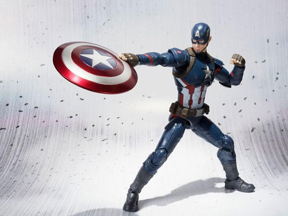 S.H. Figuarts Civil War Captain America