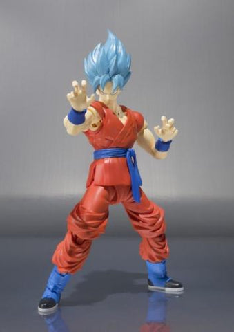 S.H. Figuarts Dragon Ball Z Resurrection F SS God Super Saiyan Goku