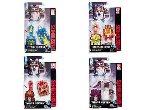 Titans Return Titan Master Wave 4 Set of 4