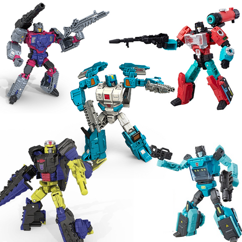 Titans Return Deluxe Wave 4 Set of  5