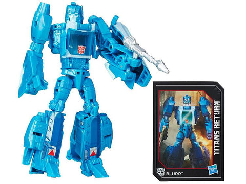 Titans Return Deluxe Blurr