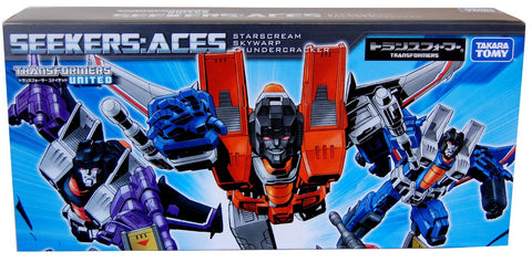 "Takara Asia Exclusive Classics Seekers Set ""ACE"""