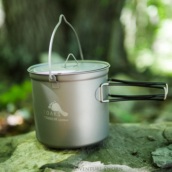 Outdoor Cookware: A Look at Toaks Titanium