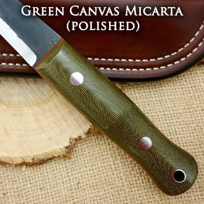 green canvas micarta