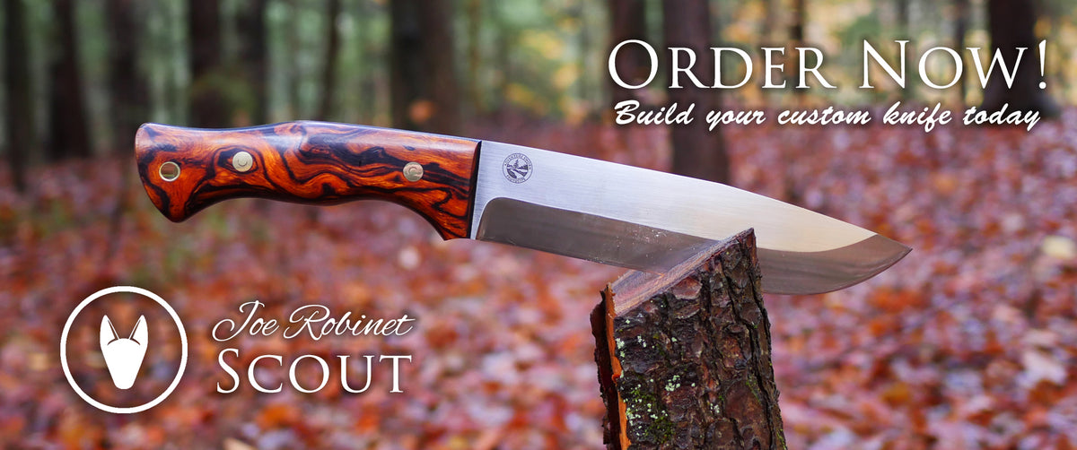 Joe Robinet Scout Bushcraft Knife