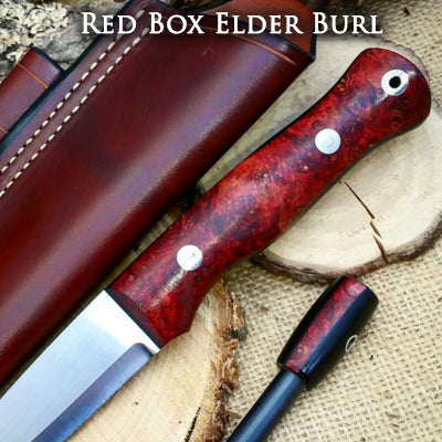 red box elder burl
