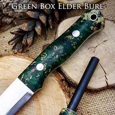 green box elder burl