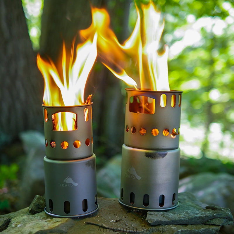 Toaks wood stoves