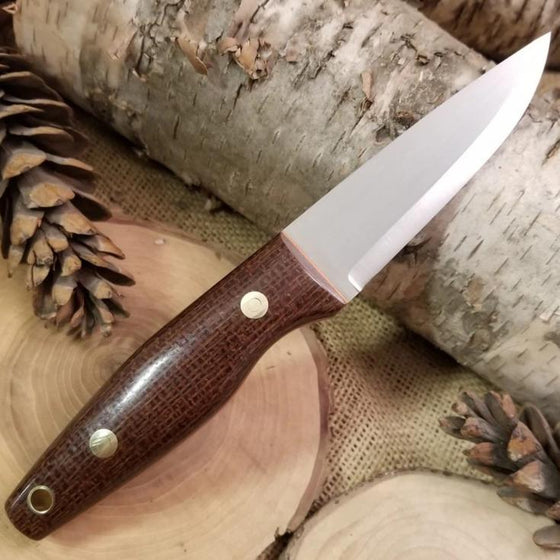 [In-Stock] Woodsman: Burlap & Orange G10